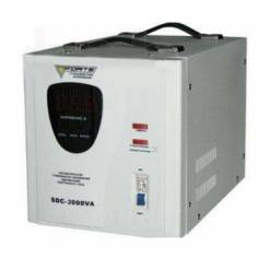 Стабилизатор напряжения одноазный  FORTE SDC-3000VA